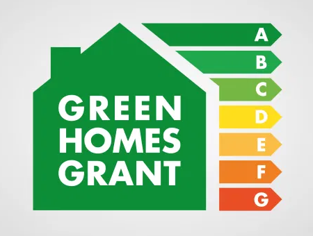 Green Homes Grant energy indicators. To achieve an 'A' rating for the heat and energy efficiency of your home you need to install things like a new heat pump (air source, ground source or hybrid), solar thermal panel and / or biomass boiler. They all qualify for the government's Green Homes Grant of up to £5,000 (£10,000 for those on certain benefits). Ring us on 01329 285 993 for a quote for our expert fitters to install for you.